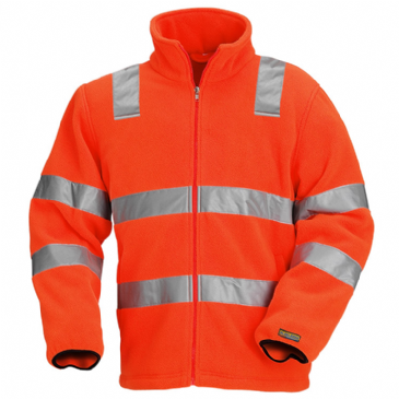 Blaklader 4833 Fleece Jacket High Visibility (Orange)